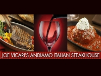 Joe vicari's Andiamo Italian Steakhouse Las Vegas at The D