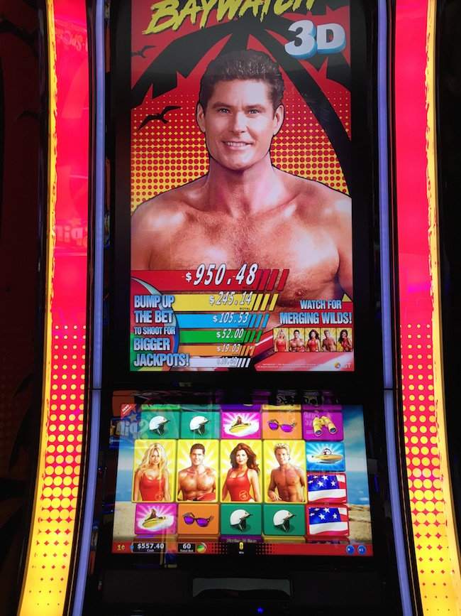 Baywatch Slot Machine Las Vegas