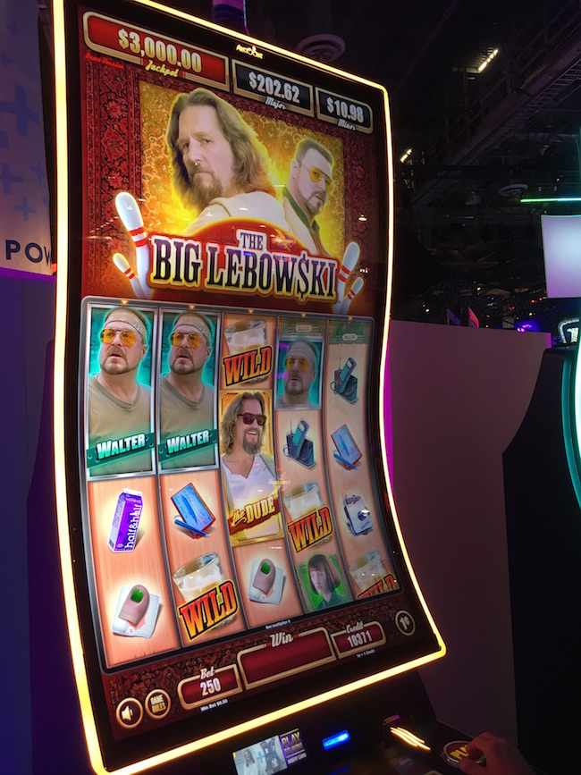 The Big Lebowski Slot Machine Las Vegas