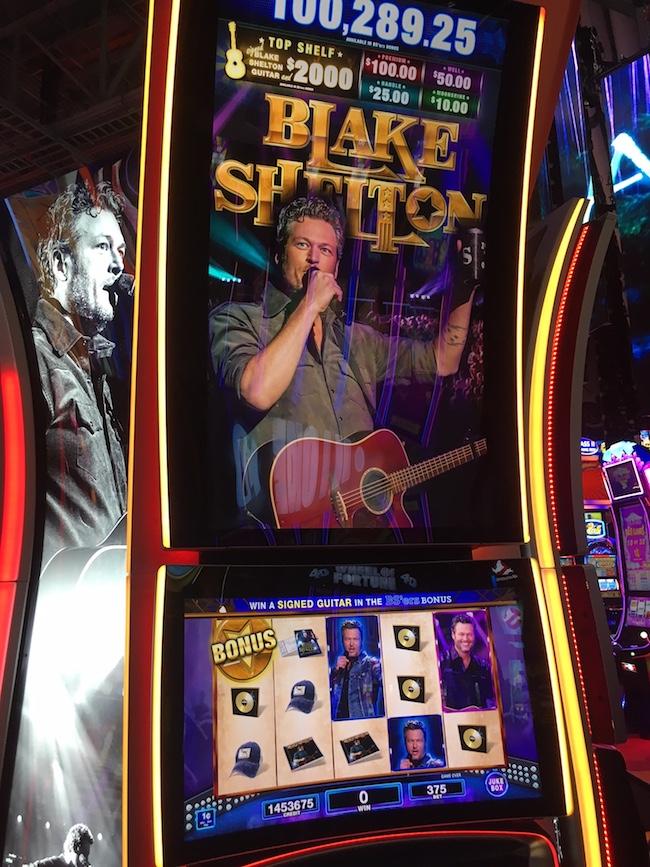 Blake Shelton Slot Machine