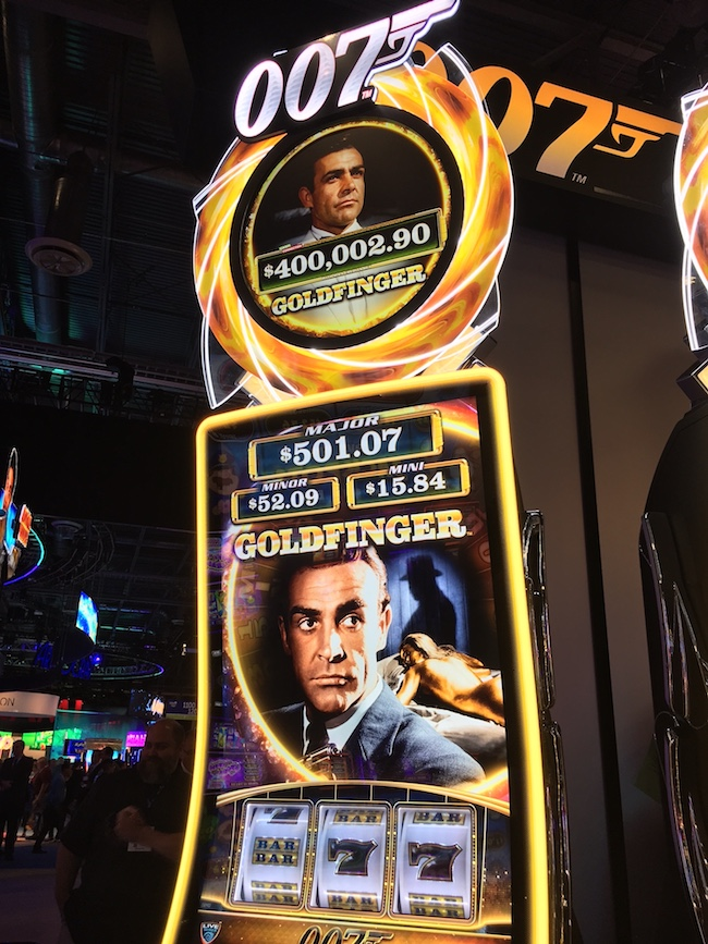 Bond GoldFinger Slot Machine
