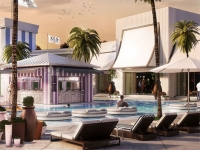 Foxtail Pool Club at SLS Las Vegas