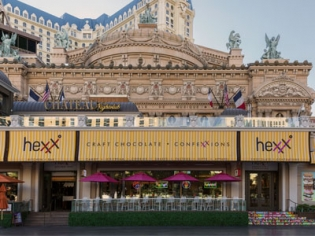 Hexx Kitchen and Bar 24 hour restaurant at Paris Las Vegas