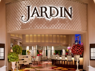 Hardin dining at the Encore Las Vegas