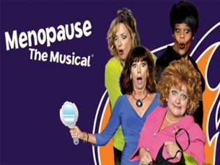 Menopause the Musical Signage at Harrah's