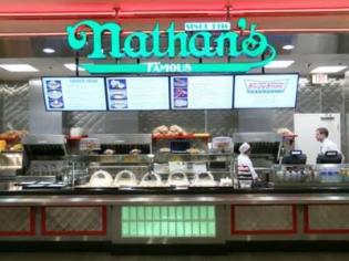 Nathan's Famous Hot Dogs and Fries at Bally's Las Vegas