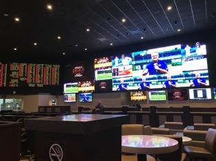 Sportsbook at Rampart Casino