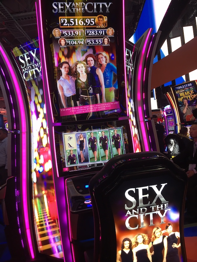 Sex and the City Slot Machine Vegas