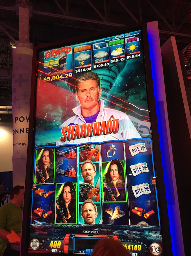 Sharknado Slot Machine Las Vegas