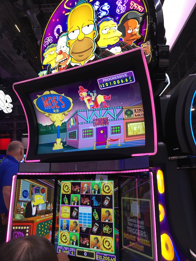 The Simpsons Slot Machine Las Vegas