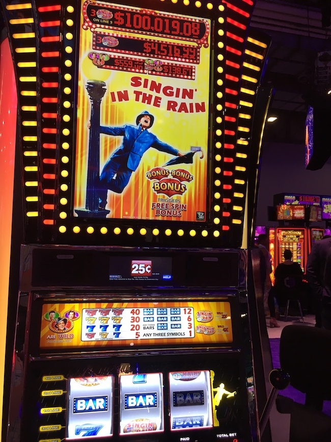 Singin' In The Rain Slot Machine