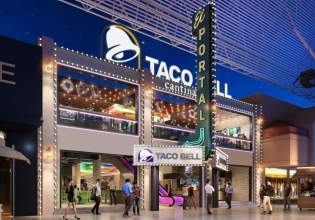 Taco Bell Cantina Downtown Las Vegas Fremont Street