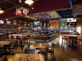 Tap Sports Bar with 60 HD TV's at the MGM Grand