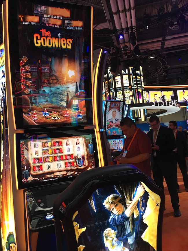 The Goonies Slot Machine in Vegas