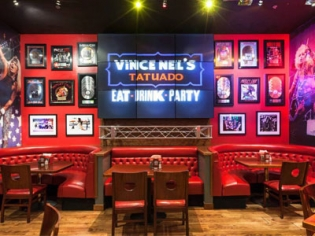 Vince Neil's Tatuado Eat Drink Party restaurant at Circus Circus