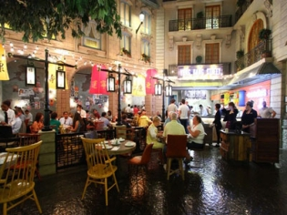 Yong Kang Street Dim Sum Taiwanese restaurant at Paris Las Vegas