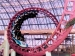 Indoor Double-Loop, Double-Corkscrew Roller Coaster Speeding Through Adventuredome at 55 mph