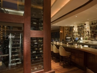 Wine Storage and Bar at Alize
