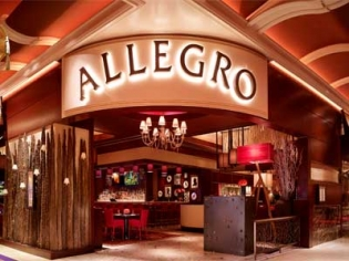 Allegro Italian restaurant at the Wynn Las Vegas