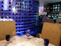 Aquaknox Tablescape and Wine Bottles