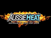 Aussie Heat, the top male strip act on the Strip at the V Theater