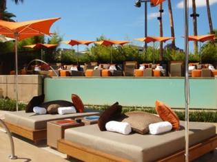 Bare Pool Lounge Topless At Mirage Las Vegas