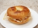 Meat and Cheese Bagel