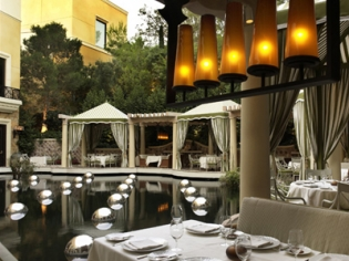 Bartolotta Outdoor Seating and Water Feature