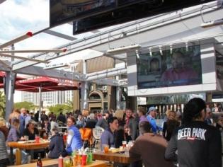 Beer Park Rooftop venue at Paris Las Vegas