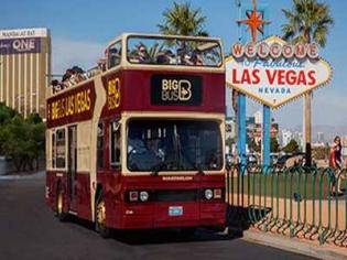 Big Bus hop On Hop Off tour of Las Vegas