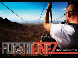 Flightlinez Bootleg Canyon zipline tour