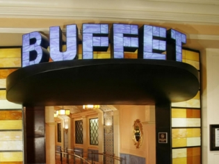 Buffet Bellagio Neon Entrance Sign