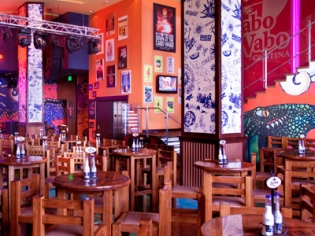 Cabo Wabo Cantina Hightop Tables