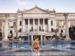 Girl in Pool at Caesars Palace