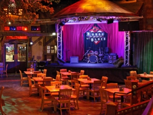 Crossroads House of Blues Stage and Seating