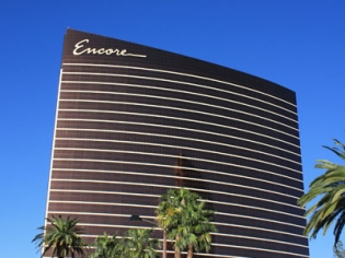 Front View of Encore Hotel