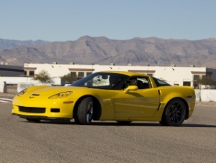 Exotic Racing Yellow Corvette