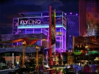 Fly Ling Zipline at the Linq Las Vegas