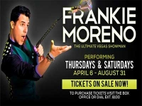 Frankie Moreno the Ultimate Las Vegas Showman
