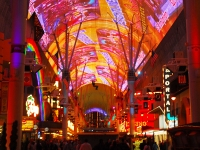 Fremont Street Experience in Old Las Vegas