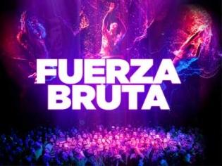 Fuerza Bruta at the Excalibur Las Vegas