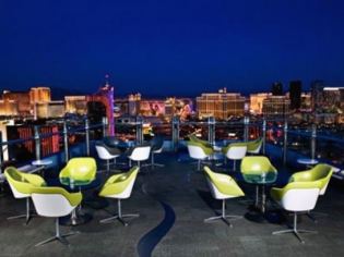 Ghostbar Outside Seating w/ Vegas View