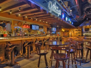 Gilley's Bar and Hightop Seating