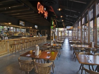 Gilley's Interior Dining Space
