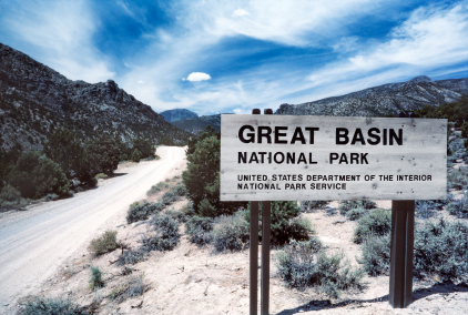 Great Basin National Park Sign