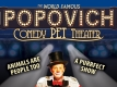 Gregory Popovich Comedy Pet Theater Logo