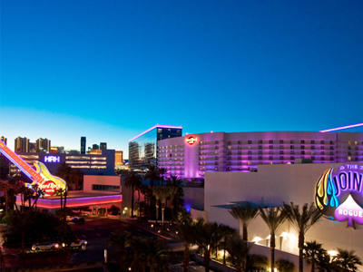 Home › Travel › Hotels › Las Vegas Hotels › Hard Rock Hotel & Casino About Hard Rock Hotel & Casino Owned and operated by Morgans Hotel Group Co. and equity partner DLJ Merchant Banking Partners, Hard Rock Hotel & Casino is a premier destination entertainment resort situated on 26 acres in Las Vegas.