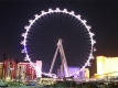 Ferris Wheel on the Vegas Strip at Night