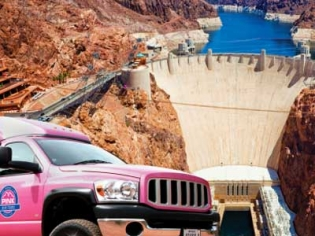 Amazing Hoover Dam Classic Pink Jeep Tour