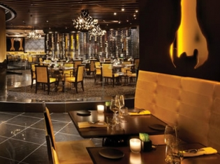 Jean Georges Steakhouse Dining Setup and Decor